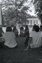 Preview image of Students on the Lawn during orientation week
