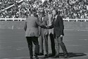 Preview image of Frank L. Hereford, Jr. and others at University of Virginia versus University of North Carolina at Chapel Hill football game