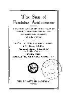 Preview image of The sum of feminine achievement