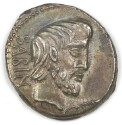 Preview image of Denarius of L Titurius Sabinus, Rome, 89 B.C. 1989.19.1.
