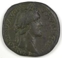 Preview image of Dupondius of Antoninus Pius, Rome, A.D. 140-144. 1989.19.11.