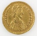 Preview image of Solidus of Valentinian II, Treveri, A.D. 388-392. 1989.19.23.