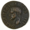 Preview image of As of Gaius/Caligula, Rome, A.D. 37-41. 1989.19.9.