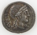 Preview image of Denarius of M Herennius, Rome, 108 B.C.-107 B.C. 2012.93.
