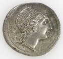 Preview image of Denarius of M. Herennius, Rome, 108-107 B.C. 2012.94.