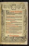 Preview image of Le grant coustumier du pays et duche de Normandie .