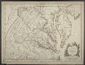 Preview image of Carte de la Virginie et du Maryland