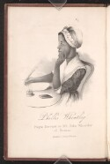 Preview image of Memoir and poems of Phillis Wheatley