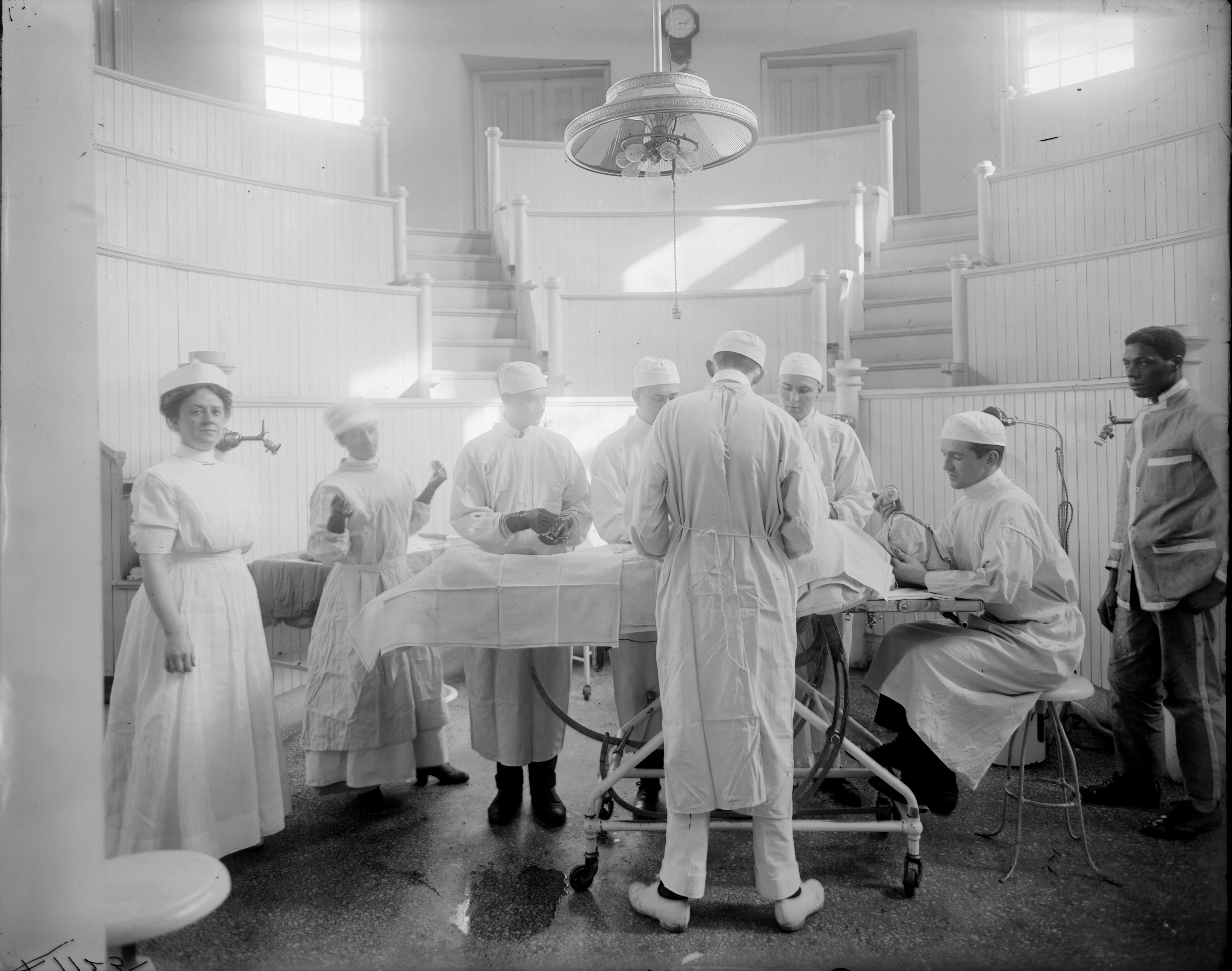 Surgical Amphitheater, University of Virginia Hospital