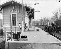 Chesapeake and Ohio Railway, Crozet Train Station Albemarle County