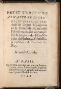 Preview image of Petit traité de Arnalte et Lucenda