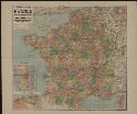 Preview image of Nouvelle carte de France, Belgique, Bords du Rhin, Suisse, etc