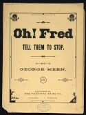 Preview image of Oh! Fred, tell them to stop