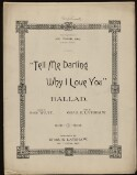Preview image of Tell me darling why I love you