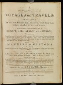 Preview image of A new general collection of voyages and travels