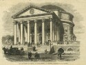 Preview image of Rotunda, The University of Virginia at Charlottesville - Photographed by W. G. R. Frayser