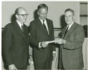 Preview image of Dr. Cooley at check presentation