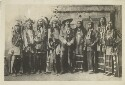 Preview image of Portrait of William Cody (Buffalo Bill) and the Indian Chiefs