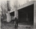 Preview image of Dr. Lawrence Cranberg in front of the New Accelerator Building