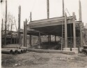 Preview image of Alderman Library under construction