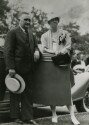 Preview image of Acting President John L. Newcomb with Mrs. Franklin D. Roosevelt