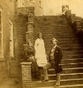 Preview image of James F. Harrison with his Family on Steps at the University of Virginia