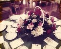 Preview image of Table setting at 1976 luncheon held in honor of Queen Elizabeth, II's visit to the University