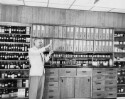Preview image of William A. Smith in remodeled hospital pharmacy