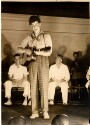 Preview image of Medical Class Play - McLemore Birdsong (Class of 1937) playing guitar