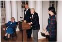 Preview image of Ceremony in the Rotunda honoring Alvin and Nancy Baird for their donation to the Claude Moore Health Sciences Library