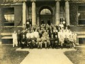 Preview image of Dr. Hugh H. Young with a group at Johns Hopkins University