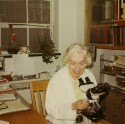 Preview image of Dr. Catherine Russell in her office