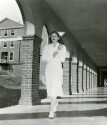 Preview image of Nurse walking through exterior colonnade