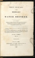 Preview image of Thirty years ago, or, The memoirs of a water drinker