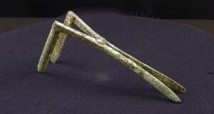 Ancient Roman rectal speculum (replica)