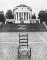 Preview image of Chair with book in front of Rotunda