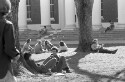 Preview image of Students on the Lawn in front of Old Cabell Hall