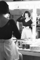 Preview image of Actress preparing backstage for Dames at sea performance