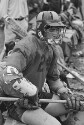 Preview image of Player on sideline at University of Virginia versus Washington and Lee University men's lacrosse game