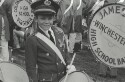 Preview image of Child drummer at University of Virginia versus University of South Caroline football game