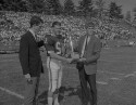 Preview image of Trophy presentation at University of Virginia versus Virginia Polytechnic Institute football game