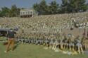 Preview image of Band and spectators at University of Virginia versus Virginia Military Institute football game