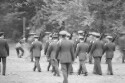 Preview image of Army Reserve Officers' Training Corps cadets practicing drills on The Dell