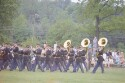 Preview image of Marching band playing during Military Weekend