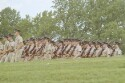 Preview image of Cadets walking in formation during Military Weekend