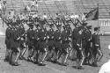 Preview image of Cadets walking in formation at Reserve Officers' Training Corps review