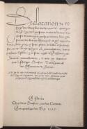 Preview image of Declaration de l'vsage du graphometre
