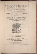 Preview image of Tumulus Henrici Secundi Gallorum Regis Christianiss