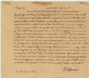 Preview image of Thomas Jefferson letter  to Rembrandt Peale